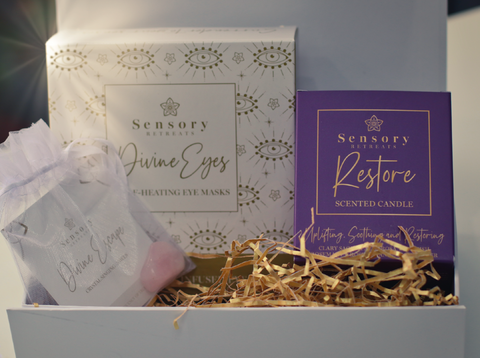 Shared Beauty Secrets - Sensory Retreats Limited Edition Divine Eyes and Restore Candle Collection