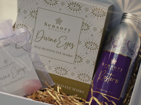 Shared Beauty Secrets - Sensory Retreats Limited Edition Divine Eyes & Restore Oil