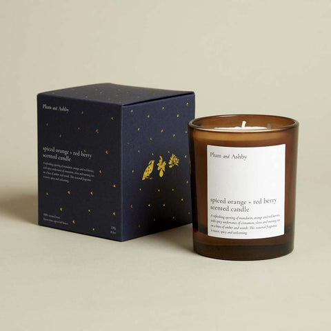 Spiced Orange & Red Berry Candle