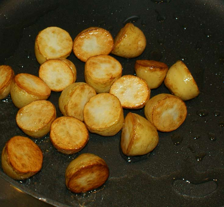 Beef Massaman Fry potatoes