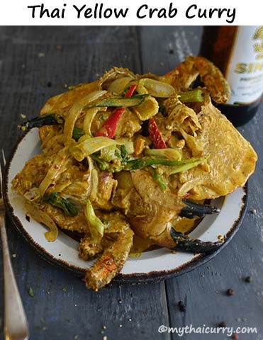 Thai Yellow Crab Curry