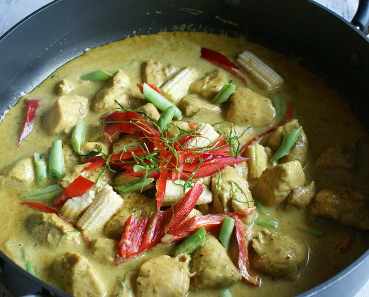 thai kitchen green curry chicken thai green chicken curry mythaicurry 8443