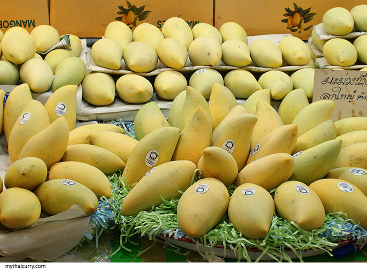Thai Mangoes at Or Tor Kor