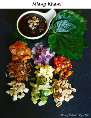 Serving suggestion for Miang Kham Sauce