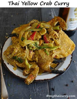 Serving suggestion for Thai Yellow Crab Curry