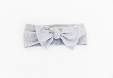 Load image into Gallery viewer, Bamboo Headband in heathered grey. Comes in one size 0-12 months