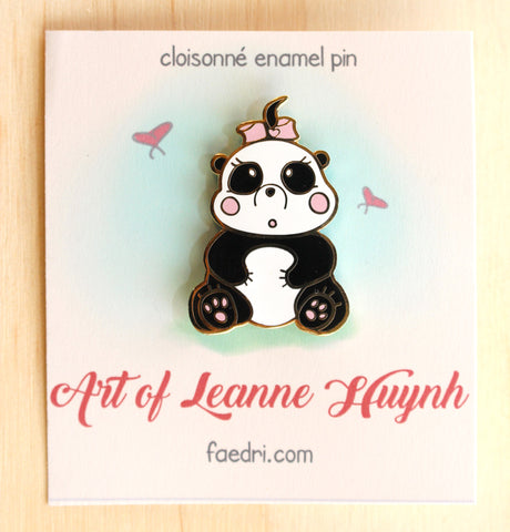 Rosie the Panda Pin