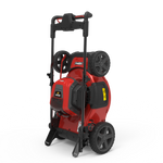 "21"" Self-propelled battery mower Mow N' Stow: compact vertical storage"