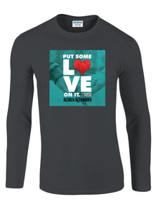 Put Some Love On It feat. Jennifer Phillips (Single Cover) - Men's Long Sleeve