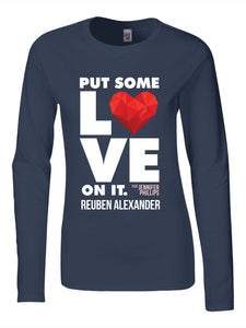 Put Some Love On It feat. Jennifer Phillips (Graphic) - Women's Long Sleeve