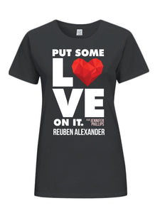 Put Some Love On It feat. Jennifer Phillips (Graphic) - Women's T-Shirt