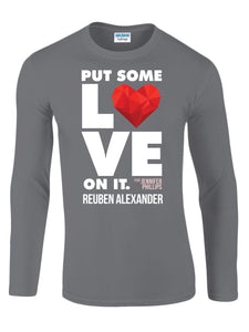 Put Some Love On It feat. Jennifer Phillips (Graphic) - Men's Long Sleeve