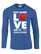 Load image into Gallery viewer, Put Some Love On It feat. Jennifer Phillips (Graphic) - Men's Long Sleeve