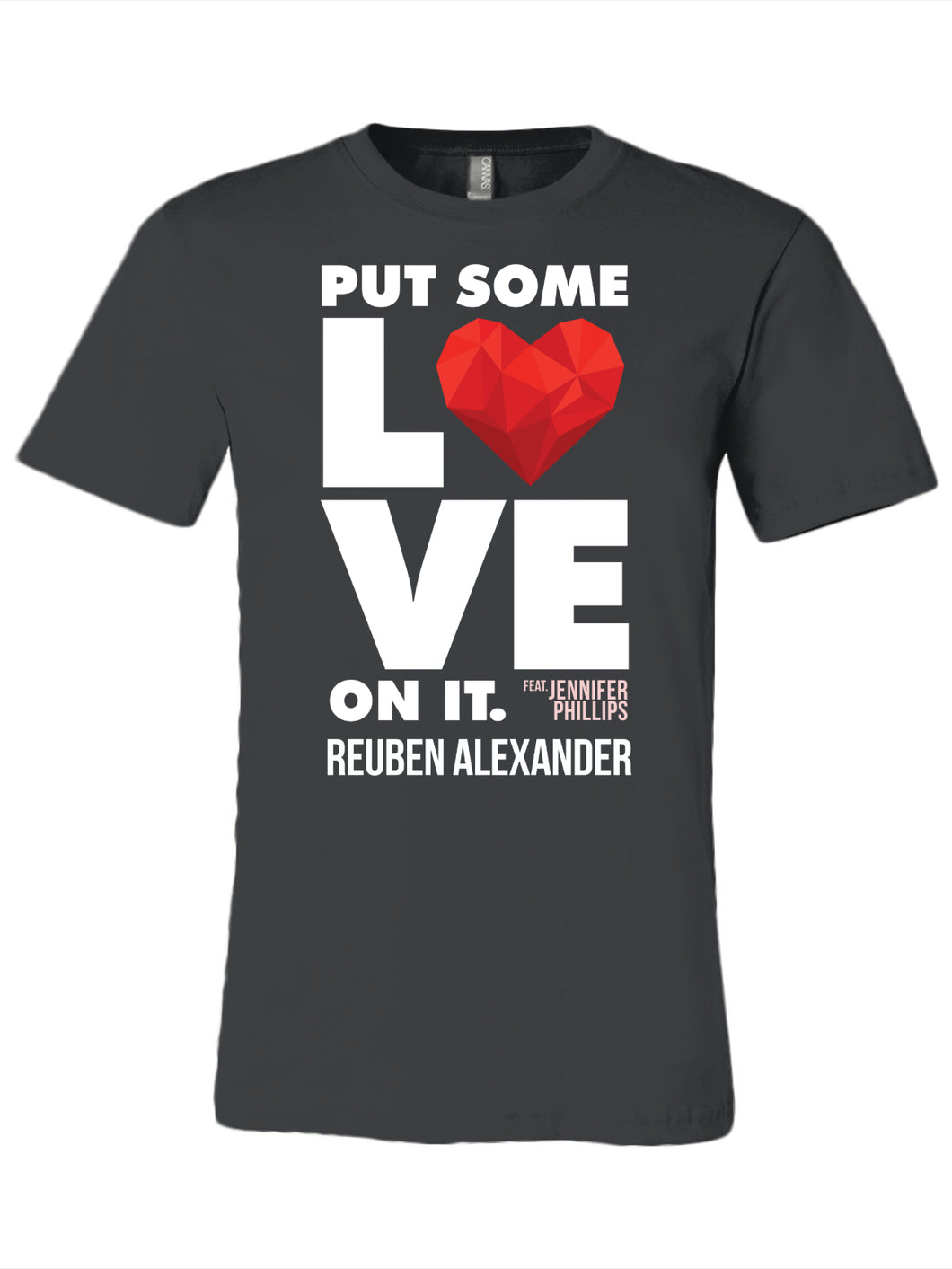 Put Some Love On It feat. Jennifer Phillips (Graphic) - Men's T-Shirt
