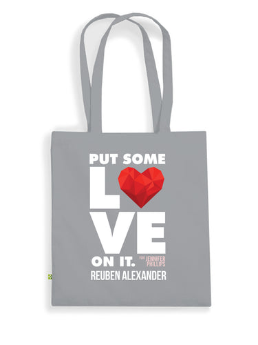 Put Some Love On It feat. Jennifer Phillips - Reusable Bag