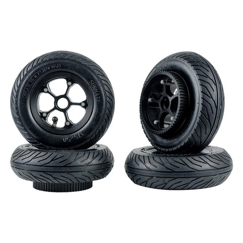 "6"" / 7"" Premium Alloy Rim Pneumatic Wheels & Pulleys"