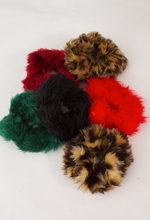 Load image into Gallery viewer, Leopard Print Scrunchie