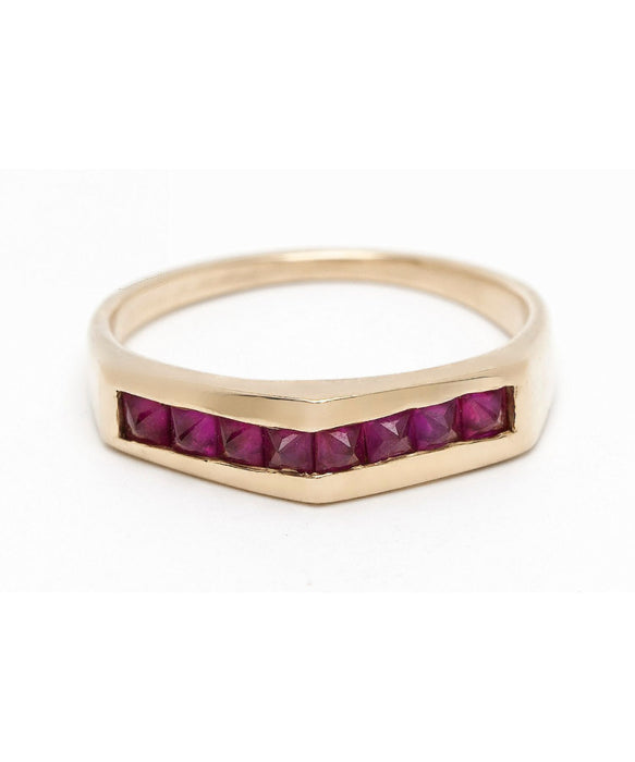 Princess Point Ruby Ring