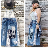Free people bib jumper, boho chic bib overalls, Love, restock, True rebel clothing
