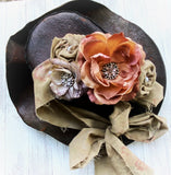 Shabby chic sash belt, clearance sale