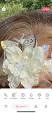Butterfly fairytale crown, bohemian chic, romantic spring looks