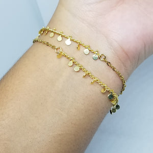 Choker or Bracelet Double |G|
