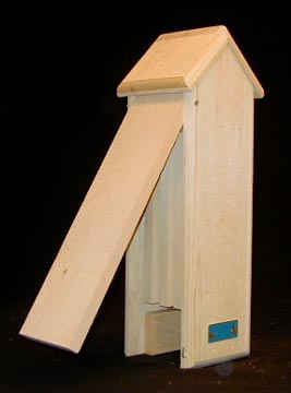 Wood Tower Bat House