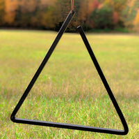 "Hand Forged 15"" Dinner Bell Triangle"