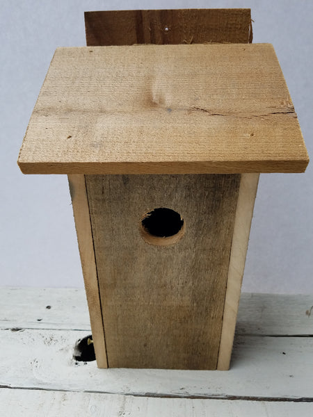 Recycled Wood Bluebird House