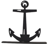 North Country Wind Bells anchor doorstop is for sea lovers at heart.