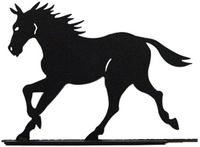 The Horse Doorstop by North Country Wind Bells is a must have for horse lovers.