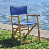 Anywhere Chair Pool Deck Chair #103 is made in the USA of American hardwood