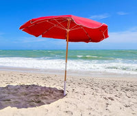 Fiberlite Beach Umbrella made in the USA by Anywhere Chair