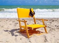 Anywhere Chair Sand Chair #106 shown in Sunflower Yellow