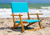 Anywhere Chair Sand Chair #106 show in the color Aruba