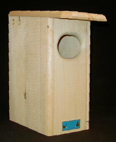 Small wood duck house by Coveside Conservation Products, Made in the USA