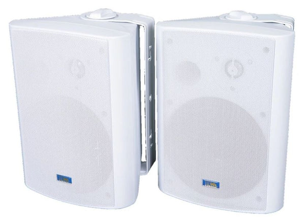 "6-1/2"" Outdoor Weather Resistant Patio Speaker Pair - ASP120"