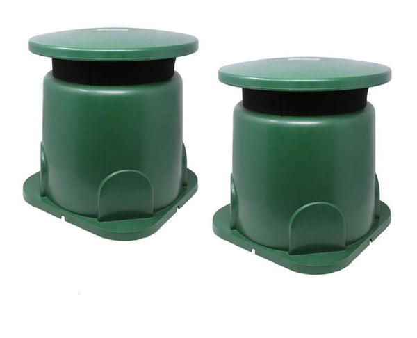 Outdoor Omni-directional In-Ground speaker pair from TIC