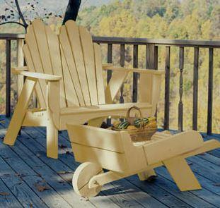Uwharrie Chair Fanback Adirondack Settee #4051 wood furniture