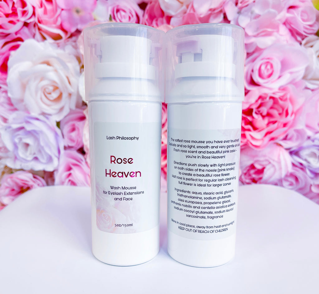 Rose Heaven Wash Mousse