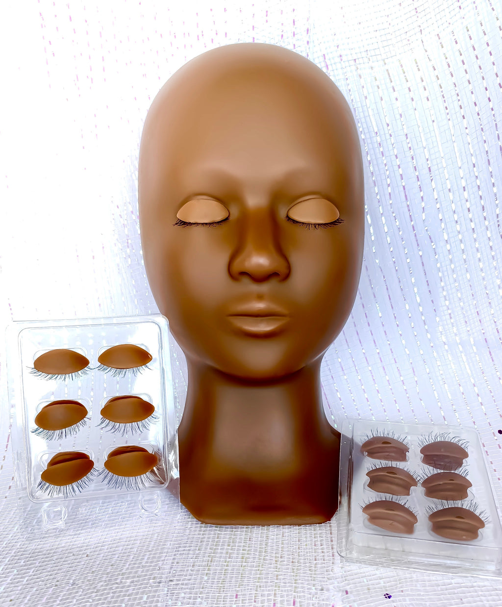 Realistic Mannequin Head with Removable eyes/eyelids
