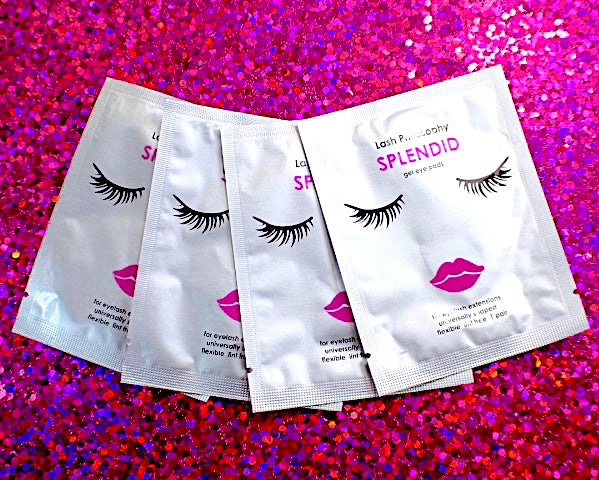 Splendid Gel Eye Pad Lint Free