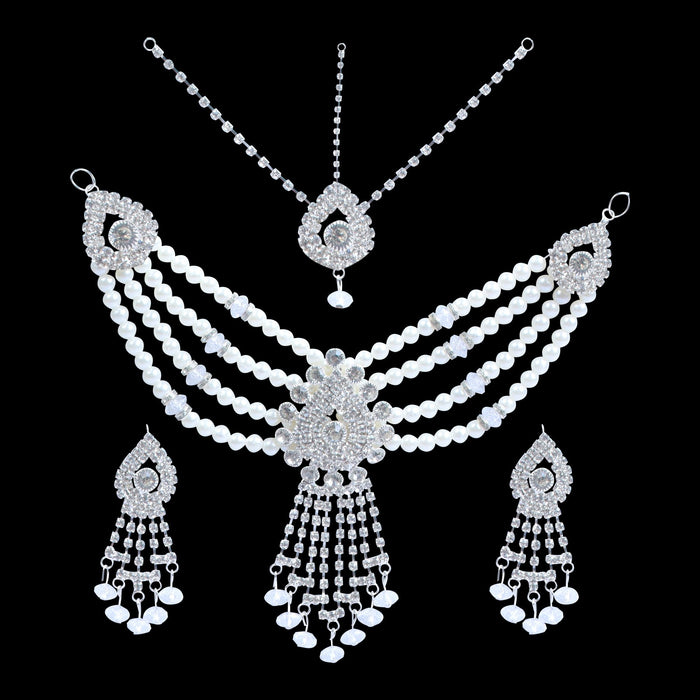 Unique Stylish Party Wear Artificial Jewellery Set-JW173