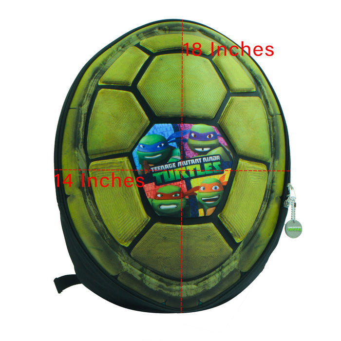 Nickelodeon Stylish Soft Shell Kids School Bag-Turtles-NA12260