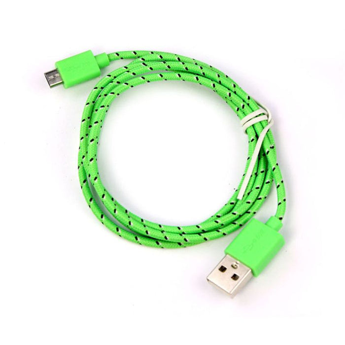 Android USB Charging Cable-Green-SP4666