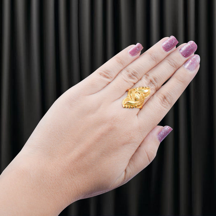 New Golden Color Ring-JW146