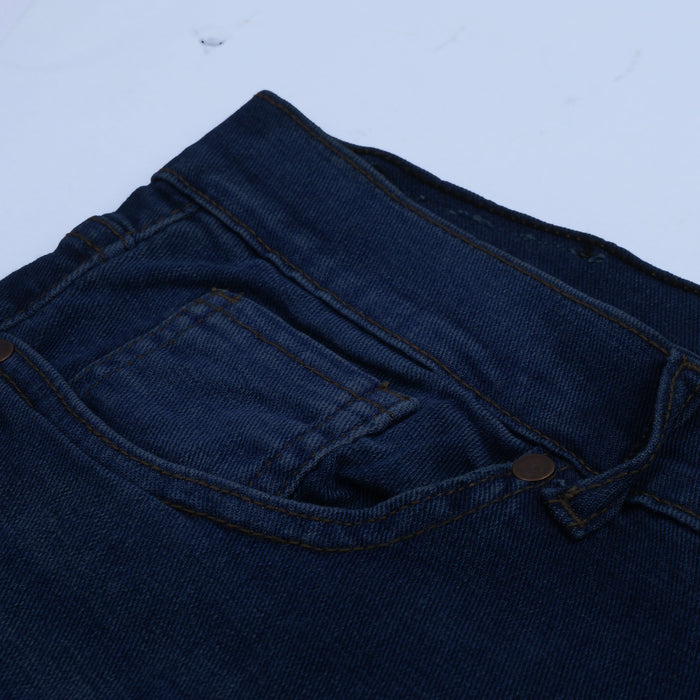 Express Slim Fit Stretch Denim For Men-Dark Navy Faded-NA12934