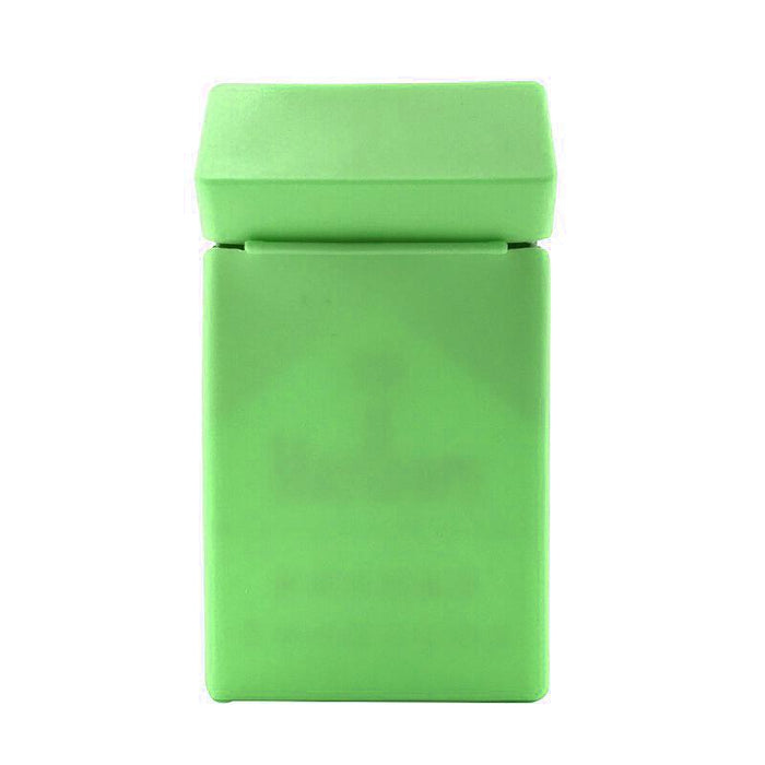 New Paris Badge Silicone Cigarette Case Cover-Parrot Green-NA10377