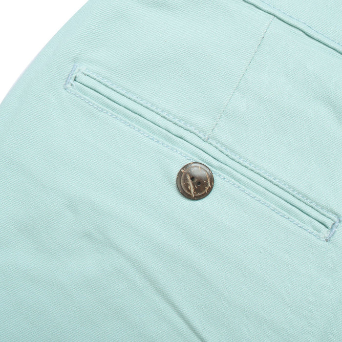Dockers Stylish Cotton Stretch Slim Fit Pant For Men-Light Sea Green-BE12648