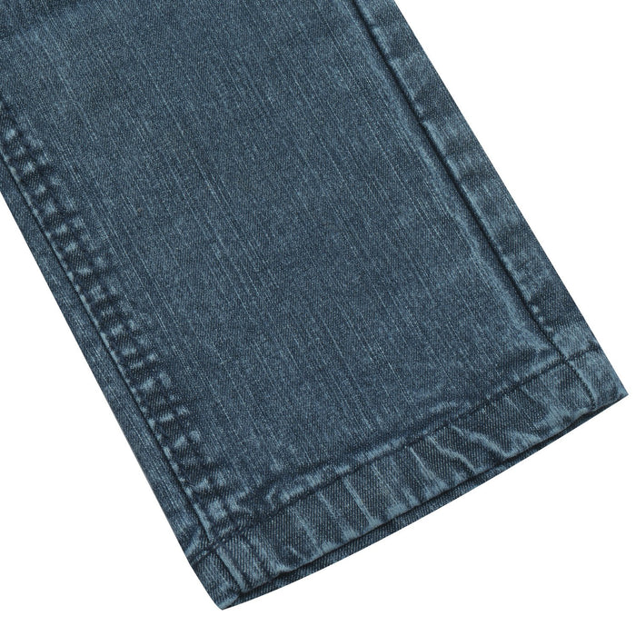 Lee Stylish Slim Fit Stretch Denim For Ladies-Light Navy Faded-BE13259